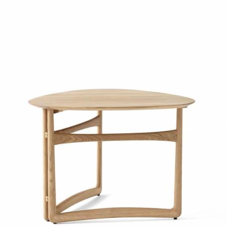 DROP LEAF HM5 - table basse pliante 80 x 78 cm