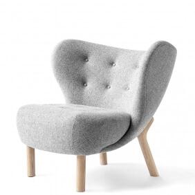 LITTLE PETRA VB1 - fauteuil piètement chêne blanchi