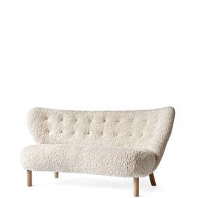 LITTLE PETRA VB2 - canapé 1m50 piètement chêne blanchi