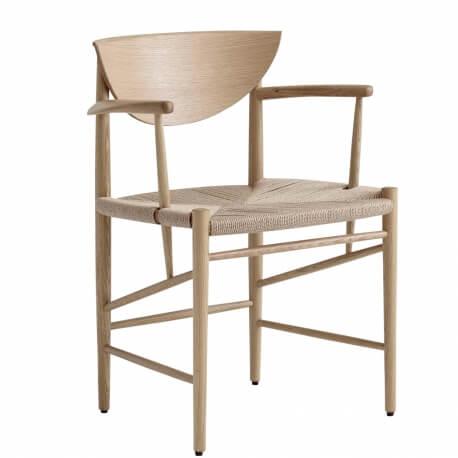 DRAWN HM4 - chaise avec accoudoirs