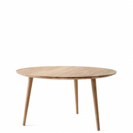 IN BETWEEN SK15 - table basse chêne diam. 90 cm