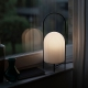 GHOST - lampe de table en verre opaque H38 cm