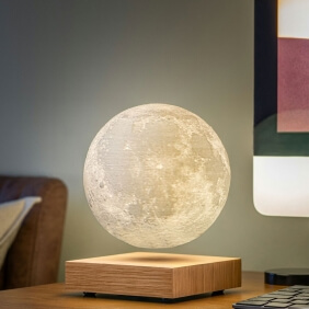 SMART MOON LAMP - lampe sans fil en lévitation