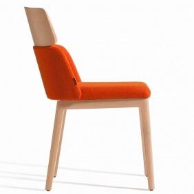 CONCORD - chaise piètement et tête hêtre
