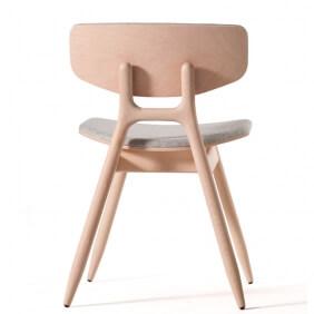 ECO - chaise en hêtre et tissu Divina Melange 2