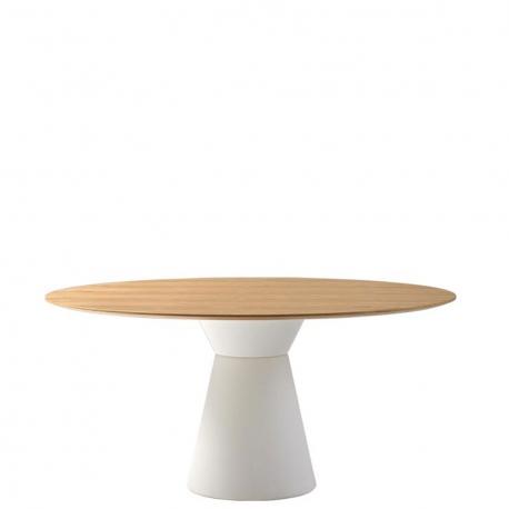 ESSENS - table ronde en chêne diam. 160 cm