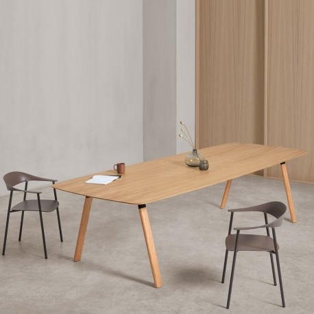 PLANIA TABLE - table en chêne