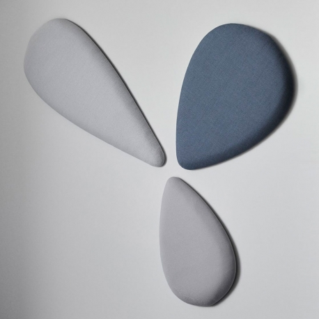 DELTA - dalle acoustique murale tissu Remix