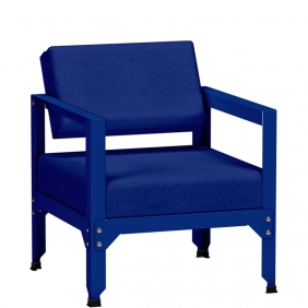 HEGOA - fauteuil de jardin avec dossier inclinable
