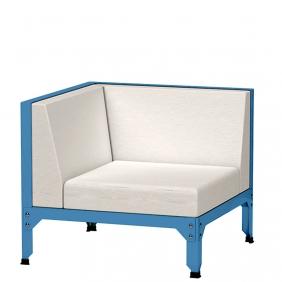 HEGOA - fauteuil d'angle de jardin
