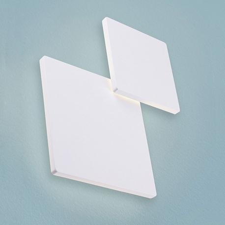 BRIWALL - applique led carrée 20 x 20 cm