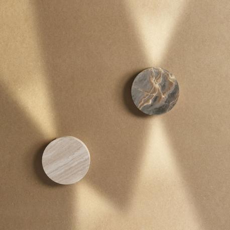 LANE - applique led rotative métal effet pierre