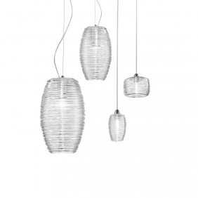 DAMASCO - suspension en verre soufflé