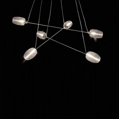 DAMASCO - suspension xl en verre soufflé
