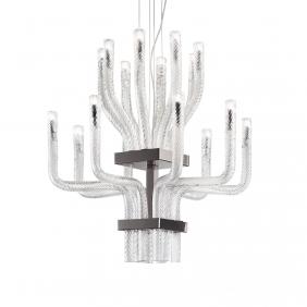 STARDUST - suspension en verre soufflé diamètre 65cm