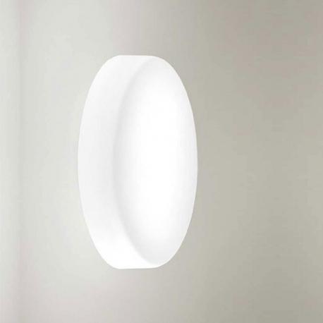 SOGNO - applique / plafonnier en verre soufflé diam. 55 cm