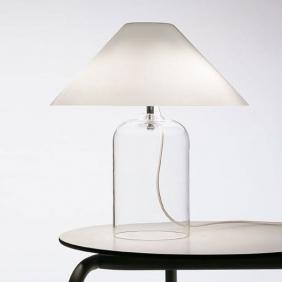 ALEGA - lampe en verre soufflé H45cm