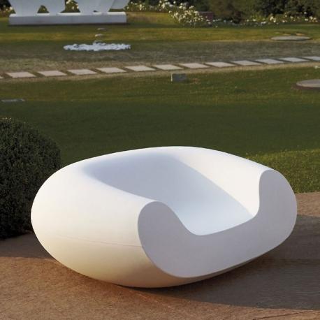 CHUBBY - fauteuil de jardin en polyethylène