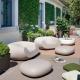 CHUBBY - pouf de jardin en polyethylène