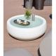 CHUBBY - table basse de jardin à roulettes