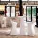 AMELIE SIT UP - tabouret de bar en polyethylène