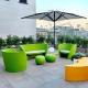 RAP - canapé de jardin 1m70 avec coussin
