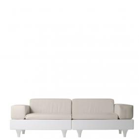HAPPYLIFE - canapé de jardin 2m40