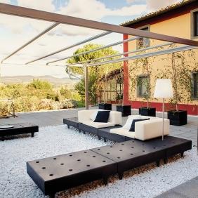 HAPPYLIFE - canapé de jardin modulable