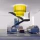 SKIRT - plafonnier haut acoustique géant