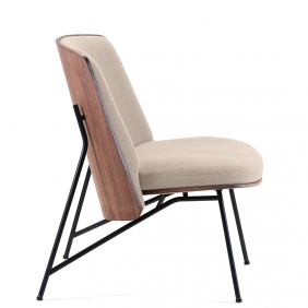 TINKER - fauteuil en noyer