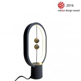 HENG BALANCE MINI - lampe gris anthracite H25 cm