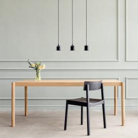 CITIZEN - table en chêne 180 x 85 cm