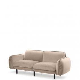 BEAN - canapé en velours 1m88
