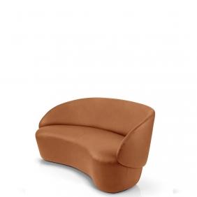 NAÏVE - canapé 1m62 en cuir