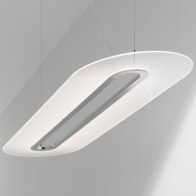 OPTI-LINE - suspension led ovale 129 cm