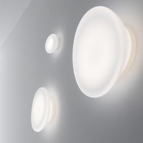 DYNAMIC - applique led en verre soufflé de Murano