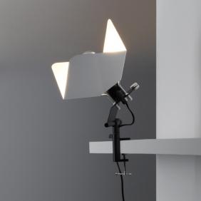 TRIEDRO - lampe d'architecte led à pince