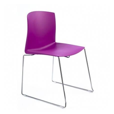 PULL - chaise luge de collectivité (lot de 4)