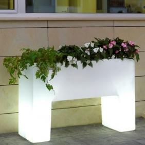 MURO - jardinière lumineuse