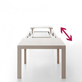 LIGHT - table extensible 1m20 à 4m20