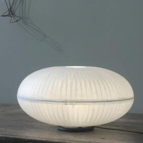 CRISTAL L - lampe de table en papier japonais