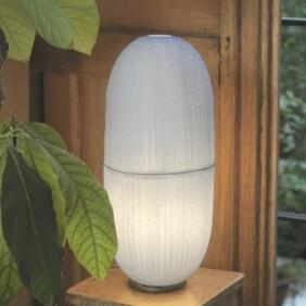CRISTAL H - lampe de table en papier japonais
