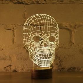 SKULL - lampe leds