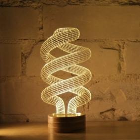 SPIRAL - lampe leds