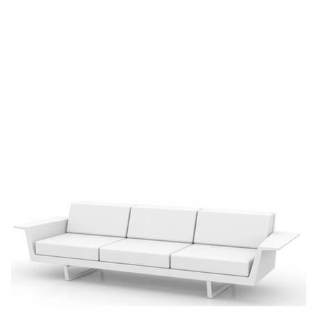 DELTA - canapé de jardin 2m80