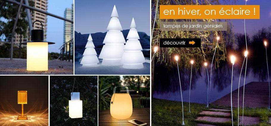 lampes de jardin design